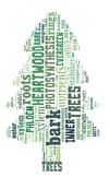 Tree Word Cloud Shape