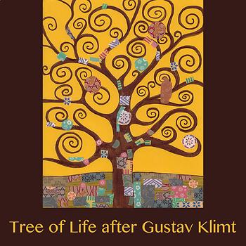 Gustav Klimt Tree Of Life Teaching Resources | Teachers Pay Teachers