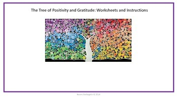 Tree of Positivity and Gratitude Group Project