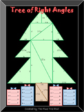 Tree of Right Angles (A Pythagorean Theorem Activity)