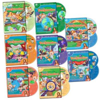 TreeSchoolers Complete DVD+CD Set