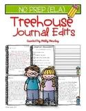 Treehouse Journal Edits