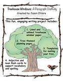 Treehouse Paragraph Craftivity