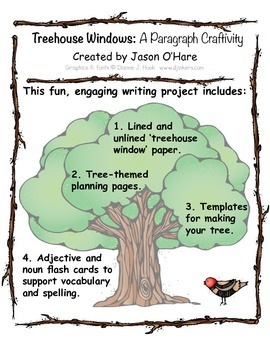 Treehouse Paragraph Craftivity