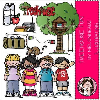 Treehouse fun clip art - COMBO PACK- by Melonheadz