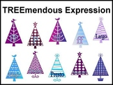Treemendous Expression Holiday Bulletin Board for Music Class