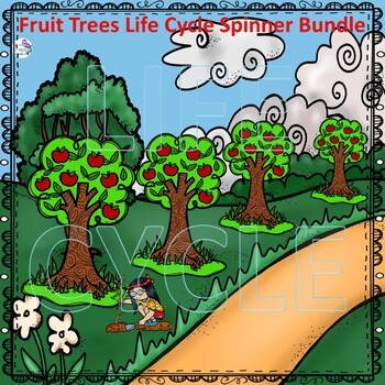 Trees Life Cycle Spinner Bundle #1