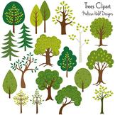 Clipart: Trees Clip Art