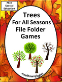 File Folders Trees Math Literacy Interactive Arbor Day Special Education