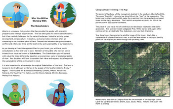 Trees & Forests:  A Grade 6 Inquiry