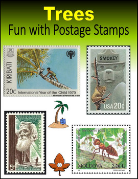 Trees:  Fun with Postage Stamps