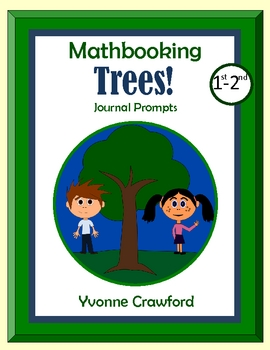 Arbor Day Math Journal Prompts (1st and 2nd grades)