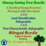 Trees Money-Saving Bilingual Bundle for Google Slides™