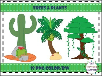 Trees & Plants Clip Art