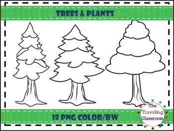 Trees & Plants Clip Art