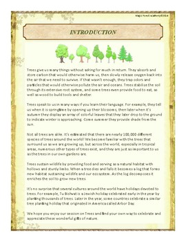 Trees Themed Nature Education Unit-Stage 2 (Magic Forest Academy)