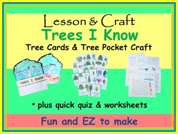 Trees! * Trees! * Trees! * Trees mini-unit * Cards * Craft * Worksheets * Quiz