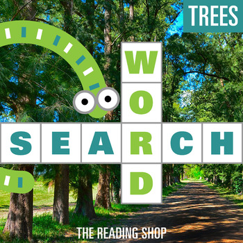 Trees Word Search - Primary Grades - Wordsearch Puzzle