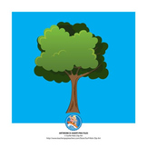 Trees and Bushes Clip Art