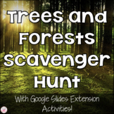 Trees and Forests Photo Scavenger Hunt for Distance Learning