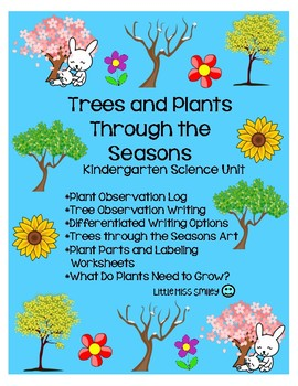 Trees and Plants through the Seasons