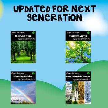 Trees and Weather: Kindergarten Foss Supplemental Worksheets