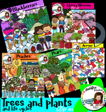 Trees and plants-life cycles -232 graphics!!!