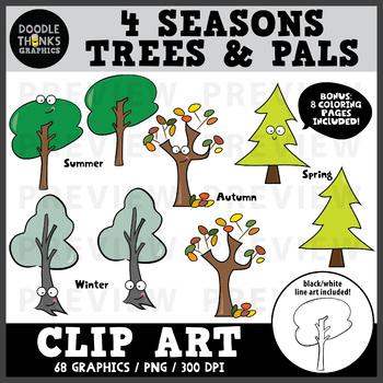 Trees of the Seasons Bundle