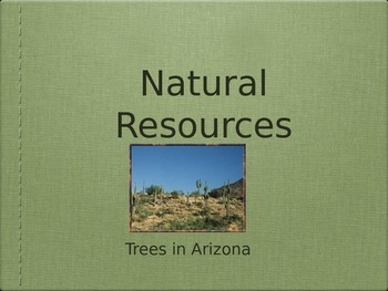 Trees of the Sonoran Desert - Power Point