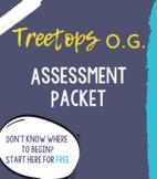 Treetops' Orton Gillingham Assessment