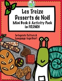 Treize Desserts de Noël Mini book & Activity Pack in FRENCH