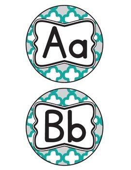 Trellis Alphabet Letters