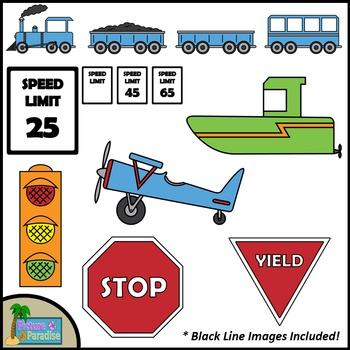 Tremendous Transportation Clip Art