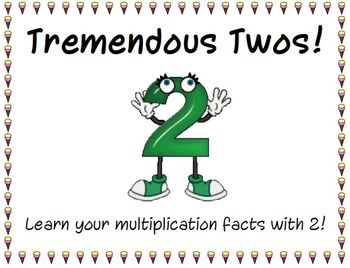Tremendous Twos! Multiplication Facts with 2.