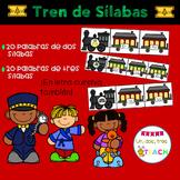 Tren de sílabas / Lectura de sílabas Navidad