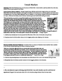Trench Warefare of World War I: Common Core Text-based Ans