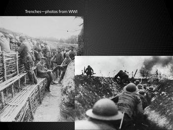 Trench Warfare - Cornell notes and illustrations