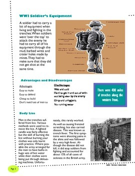 Trench Warfare Newsletter - WWI