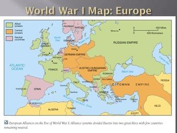 Trench Warfare PowerPoint (World War I Unit)