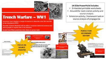 Trench Warfare: World War 1