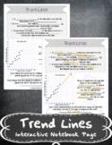 Trend Lines INB-TEKS 8.5D