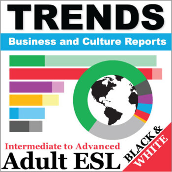 Trends - Business and Culture Reports, Book 1 - Full BW Textbook