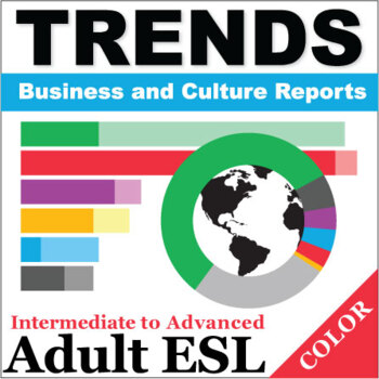 Trends - Business and Culture Reports, Book 1 - Full Color Textbook