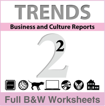 Trends - Business and Culture Reports, Book 2 - Full BW Textbook