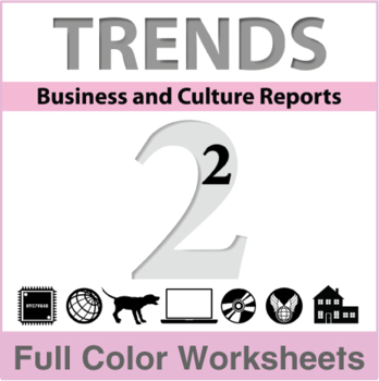 Trends - Business and Culture Reports, Book 2 - Full Color Textbook