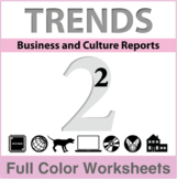 Trends - Business and Culture Reports, Book 2 - Full Color