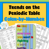 Trends on the Periodic Table Color-by-Number