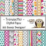 Digital Papers: Trendsetter Print