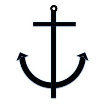 Trendy Anchors!  Clip Art Bundle! {NINE images!}