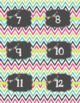 Calendar Labels - Colors - Spanish - Calendario Espanol